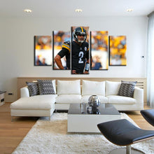 Load image into Gallery viewer, Mason Rudolph Pittsburgh Steelers 5 Pieces Painting Canvas