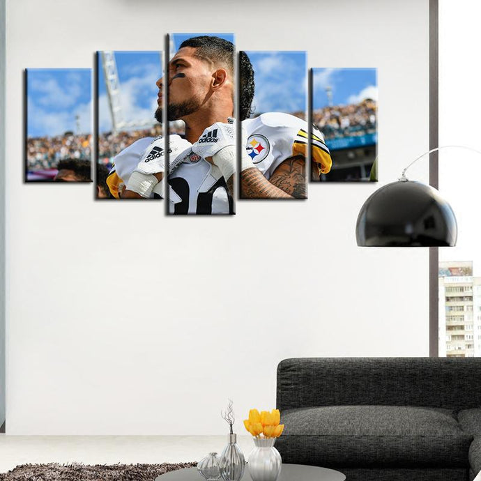 James Conner Pittsburgh Steelers 5 Pieces Painting Canvas