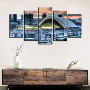 Toronto Blue Jays Stadium Canvas 2