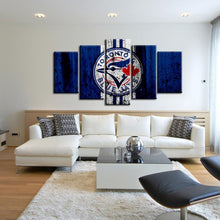 Load image into Gallery viewer, Toronto Blue Jays Rough Look Canvas