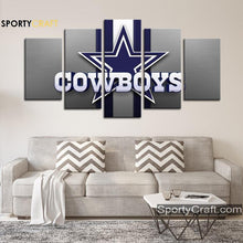 Load image into Gallery viewer, Dallas Cowboys Wall Art Canvas