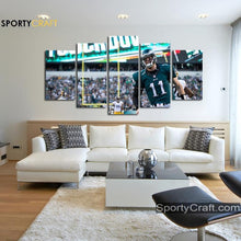 Load image into Gallery viewer, Philadelphia Eagles Wall Art Canvas
