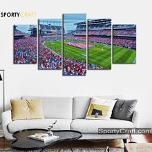 Load image into Gallery viewer, Philadelphia Eagles Stadium 5 Pieces Art Canvas