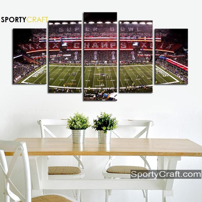 New England Patriots Champions Canvas