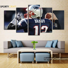 Load image into Gallery viewer, Tom Brady England Patriots Wall Art Canvas