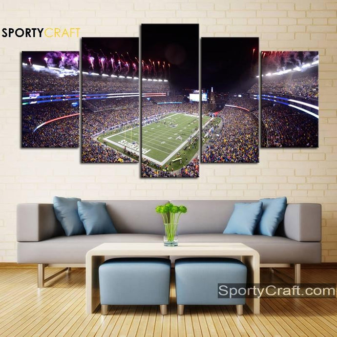 New England Patriots Stadium Canvas