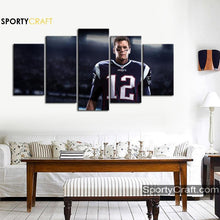 Load image into Gallery viewer, Tom Brady New England Patriots Canvas
