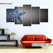 Load image into Gallery viewer, Dallas Cowboys Simple Star Canvas