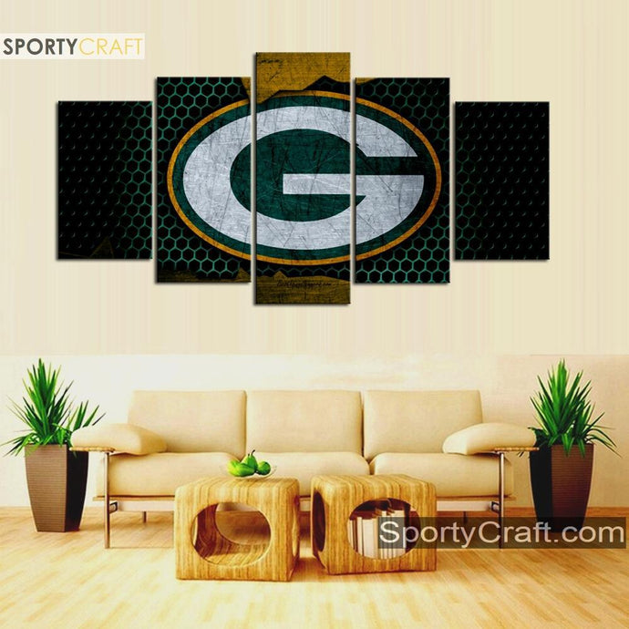 Green Bay Packers Metal Canvas