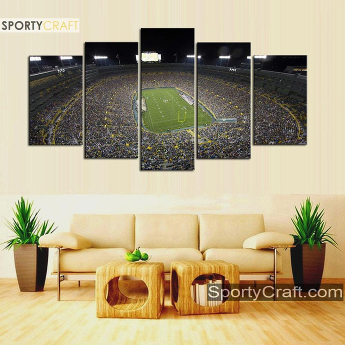 Green Bay Packers Stadium Canvas