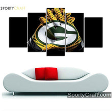 Load image into Gallery viewer, Green Bay Packers Gloves Canvas