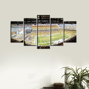 Pittsburgh Steelers Stadium Canvas 1