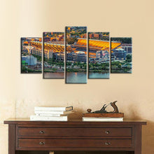 Load image into Gallery viewer, Pittsburgh Steelers Stadium 5 Pieces Painting Canvas