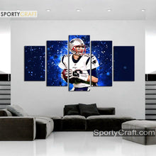 Load image into Gallery viewer, Tom Brady New England Patriots Wall Art