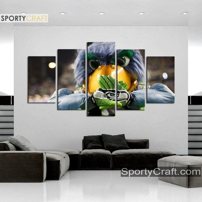Seattle Sea Hawks Original Canvas