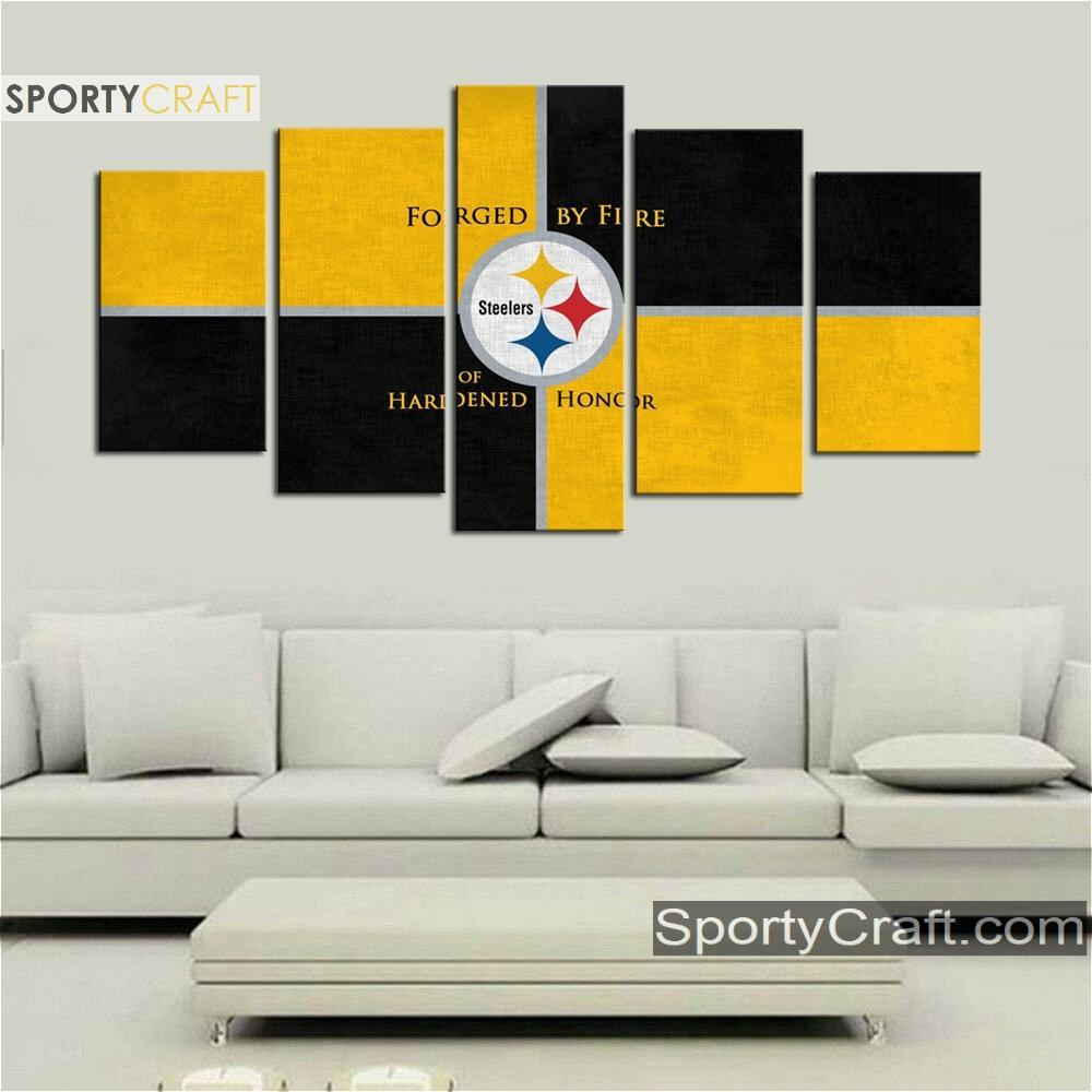 Pittsburgh Steelers Wall Canvas