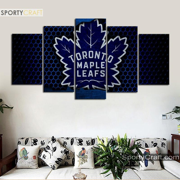 Toronto Maple Leafs Steal 5 Pieces Art Canvas