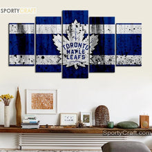 Load image into Gallery viewer, Toronto Maple Leafs Rough Canvas