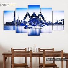 Load image into Gallery viewer, Toronto Maple Leafs City 5 Pieces Art Canvas 2