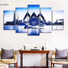 Load image into Gallery viewer, Toronto Maple Leafs City 5 Pieces Art Canvas 1