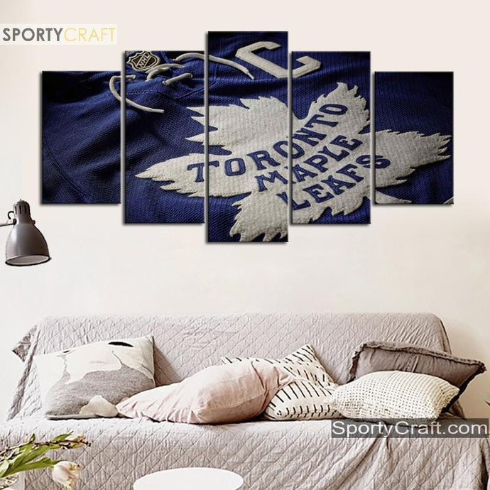 Toronto Maple Leafs Shirt 5 Pieces Art Canvas 2