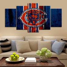 Load image into Gallery viewer, Chicago Bears Rough Style Canvas