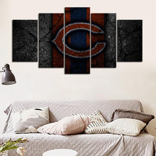Load image into Gallery viewer, Chicago Bears Rock Style Canvas