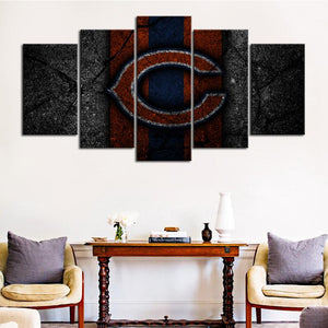 Chicago Bears Rock Style Canvas