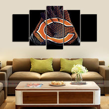 Load image into Gallery viewer, Chicago Bears Gloves Look Canvas