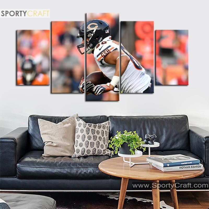 Trey Burton Chicago Bears Canvas