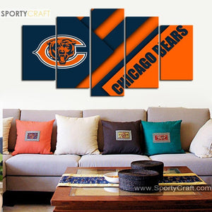 Chicago Bears New Style Canvas