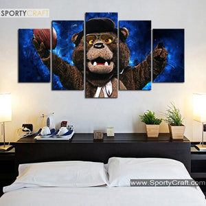Chicago Bears New Bear Canvas