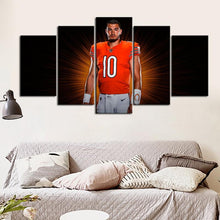 Load image into Gallery viewer, Mitch Trubisky Chicago Bears Canvas