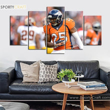 Load image into Gallery viewer, Chris Harris Denver Broncos Canvas