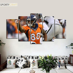 Demaryius Thomas Denver Broncos Canvas