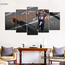 Load image into Gallery viewer, Tim Tebow's Denver Broncos Canvas
