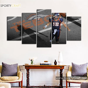 Tim Tebow's Denver Broncos Canvas
