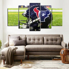 Load image into Gallery viewer, Houston Texans Helmet Look Canvas