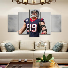 Load image into Gallery viewer, J. J. Watt Houston Texans Canvas