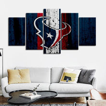 Load image into Gallery viewer, Houston Texans Rough Look Canvas