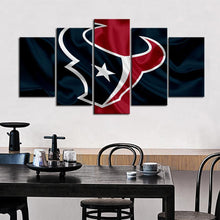 Load image into Gallery viewer, Houston Texans Fabric Style Canvas