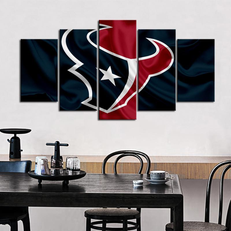 Houston Texans Fabric Style Canvas