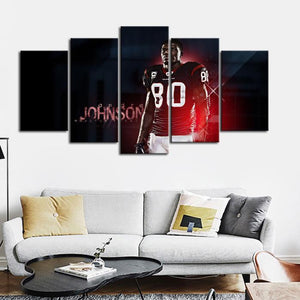 Andre Johnson Houston Texans Canvas