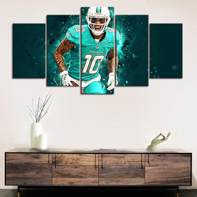 Kenny Stills Miami Dolphins Canvas
