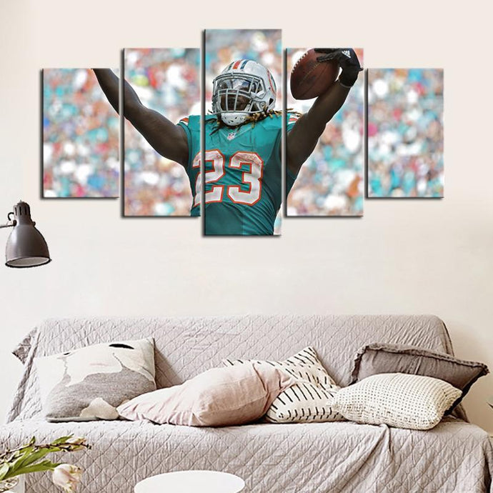 Cordrea Tankersley Miami Dolphins Canvas