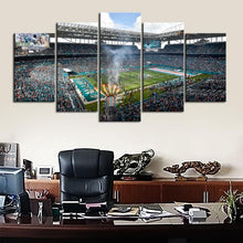 Load image into Gallery viewer, Miami Dolphins Hard Rock Stadium Canvas