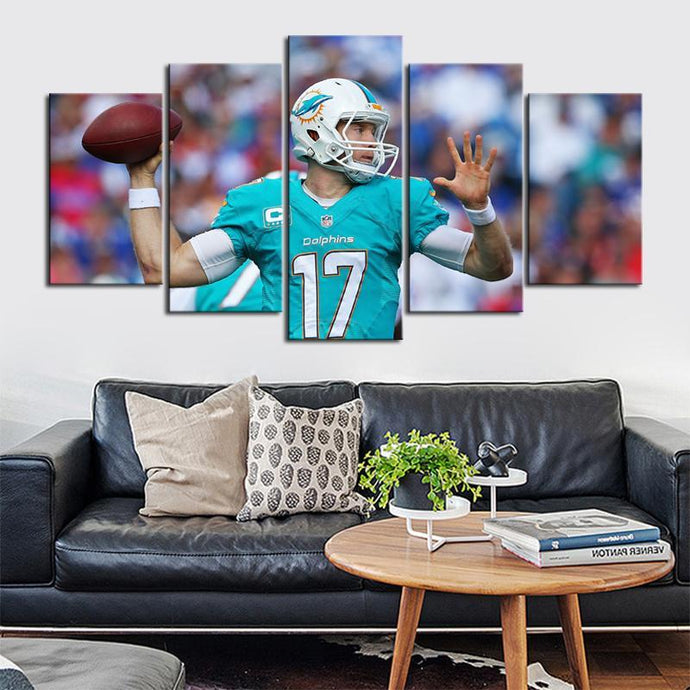 Ryan Tannehill Miami Dolphins Canvas