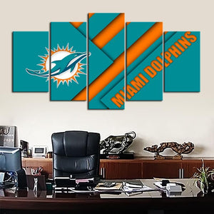 Miami Dolphins New Style Canvas