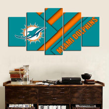 Load image into Gallery viewer, Miami Dolphins New Style Canvas