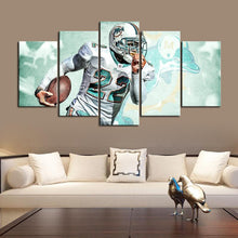 Load image into Gallery viewer, T. J. McDonald Miami Dolphins Canvas